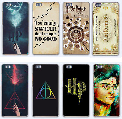 Harry Potter Marauders Map Rigid Plastic Cover Case for huawei P Honor Mate