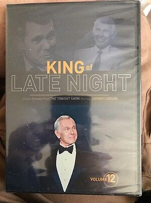 Tonight Show Johnny Carson DVD King of Late Night Volume 12  BRAND NEW SEALED