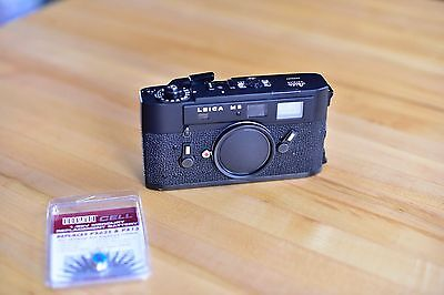 [Near Mint]Leica M5 35mm Rangefinder Film Camera Body w/spare battery