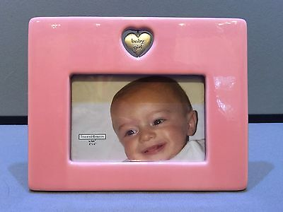 """Pink Picture Frame For Baby Or Little Girl 4"""" X 6"""""""