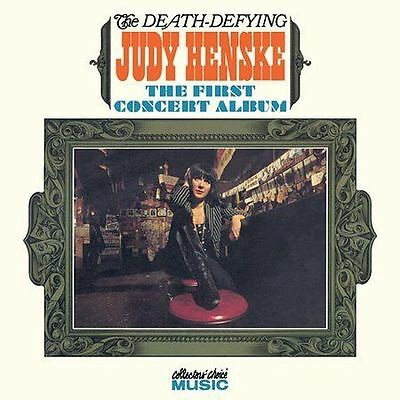 The Death - Defying JUDY HENSKE 1st Concert NEW Sealed Collector's Choice CD OOP