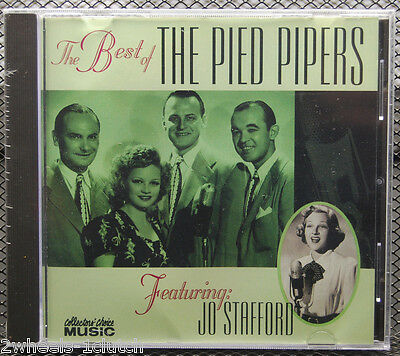 Best of The PIED PIPERS w/ Jo Stafford  NEW Sealed Collector's Choice CD OOP