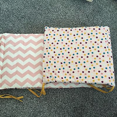 Mamas & Papas Patternology Cot Bumper Excellent Cond. Used For Decoration Only