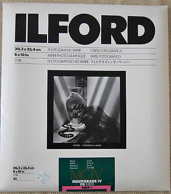 Ilford Multigrade IV FB MGF Paper.  Not sure of expiration.  25 Sheets