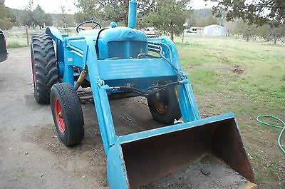Fordson - Major Diesel- Davis Front Loader- PTO and attachments