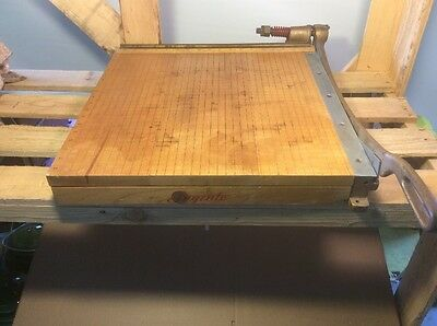 "INGENTO HEAVY DUTY PAPER CUTTER   18"" Free Shipping"