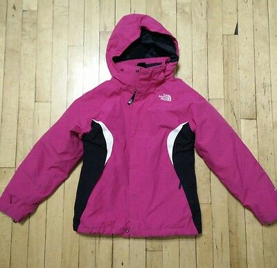The North Face Pink Thermoball Triclimate Jacket Size 10/12 Girls