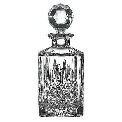 NEW Royal Doulton Highclere Crystal Square Spirit Decanter - price drop!