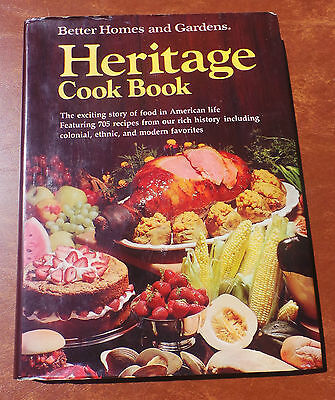 BETTER HOMES AND GARDENS HERITAGE COOK BOOK ETHNIC & More Cookbook