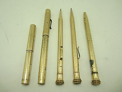 WAHL Gold Filled Fountain Pen, Ball Point Pen and Lead Pencils - AUS SELLER