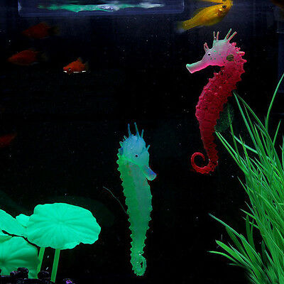 Artificial Aquarium Sea Horse Luminous Hippocampus Ornament Fish Tank Decoration