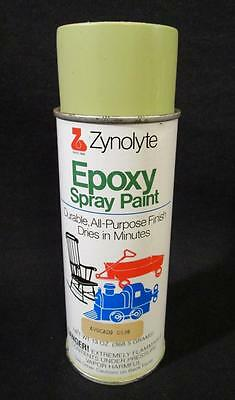 Vintage Nos Zynolyte Epoxy Avocado Spray Paint Can