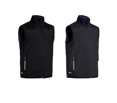 BISLEY REVERSIBLE PUFFER VEST With Quilted Wadding BV0328 WATER RESISTANT WORK V