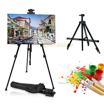 Adjustable Folding Tripod Display Easel Stand Drawing Board Art Sketch Painting