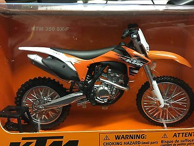 Ktm 350 Sxf  Toy Model Diecast 1:12 Scale Gift Idea Christmas
