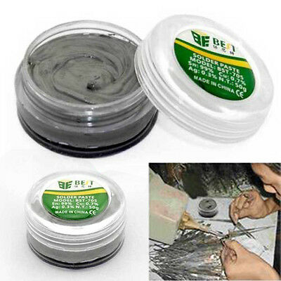 50g Grey LeadFree Soldering Paste Solder Flux Paste Cream For PCB BGA PGA SMD