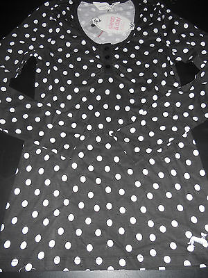 Ladies Peter Alexander Polka dot long sleeve Pyjama Top Size S   BNWT