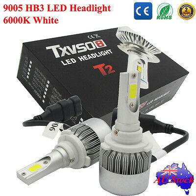 110W 20000LM 9005 HB3 LED Cree Car Headlight Bulbs Kit 6000K Driving Lamp White