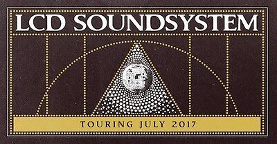 2 X Lcd Soundsystem General Admission Tickets Melbourne