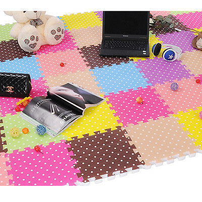 Children's Soft Developing Crawling Rugs Play Foam Mat Pad Floor Baby Toys
