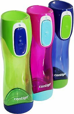 500ml Contigo Autoseal Swish water drink bottle - leak proof - BPA free