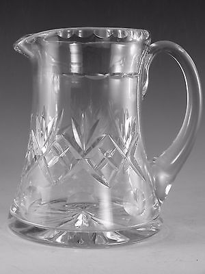 Royal DOULTON Crystal - GEORGIAN Cut - Water Jug - 5 1/2""