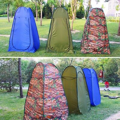 Portable Pop Up Tent Camping Travel Toilet Shower Changing Privacy Room Outdoor