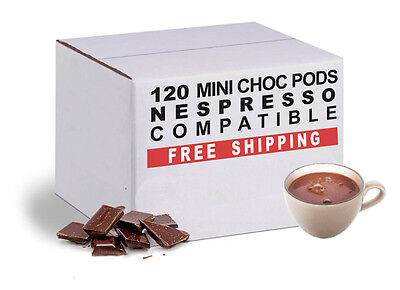 120 capsules Nespresso compatible - Mini Hot Chocolate  by Italian Coffee