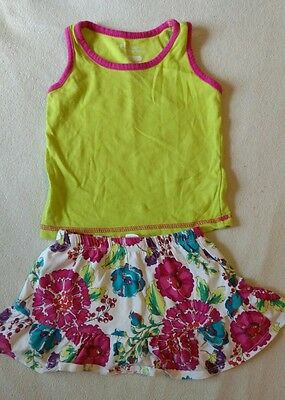 Infant/Toddler Girls size 18-24 months Top and Children's Place Skirt