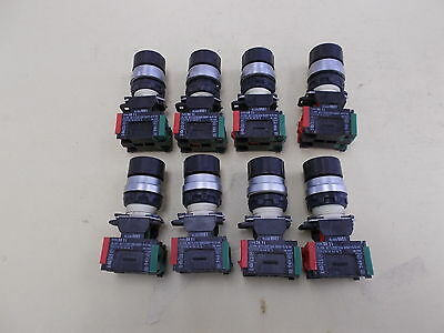 Telemecanique Selector Switch, Class 9001, Type DA 11, LOT OF 8