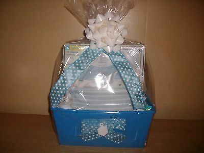 It's a Boy Baby Shower Gift Basket or Centerpiece