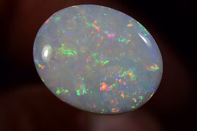 HUGE RING FIRE STONE Australian Coober Pedy Natural Solid Genuine Opal 8.0 Cts