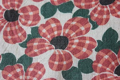 -American Vintage c1930-40s Genuine Cotton Feed Sack Fabric~Quilting,Projects-