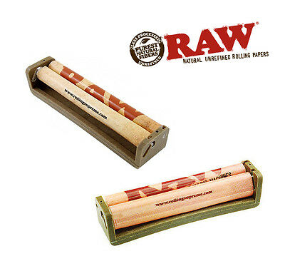 RAW ROLLING PAPERS 110mm Eco Plastic Roller King Size Rolling Machine Tobacco