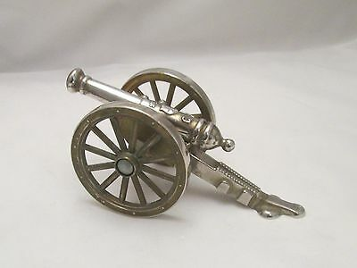 A Vintage Brass Ornament of a Canon - early 20th Century