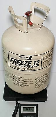 Johnsens Refrigerant Freeze 12 R12 Replacement Partial 30 lb Tank w/ 3 lbs 6 oz