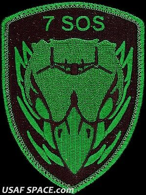 USAF 7th SPECIAL OPERATIONS SQUADRON -SHIELD- MC-130 - ORIGINAL AIR FORCE PATCH