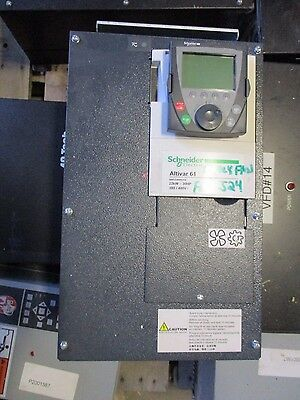 Schneider Electric, Altivar61, 30HP 480 Volt Variable Frequency Drive