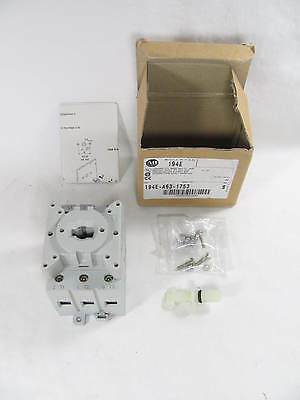 Allen Bradley, IEC Load Switch, 194E-A63-1753, SER B, 63 Amps, New in Box, NIB