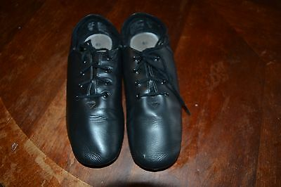 ABT Spotlights black leather jazz shoes women's sz 6.5