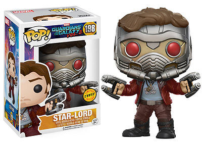 Funko Pop! Vynil Marvel Guardians of the Galaxy Star Lord Chase