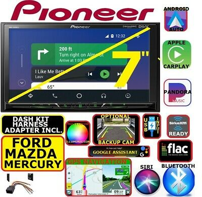 Ford Mercury Mazda Navigation Bluetooth Carplay Android Auto Car Radio Stereo