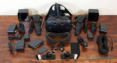 HTC VIVE Virtual Reality head unit   all accessories   5 yrs Warranty