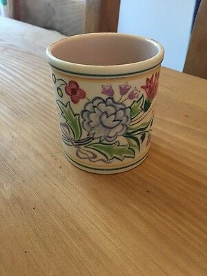 Poole Pot 1950-55 Handmade And Decorated