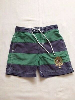 Ralph Lauren Baby Boys Blue / Green Shorts / Swimming Trunks 18 m
