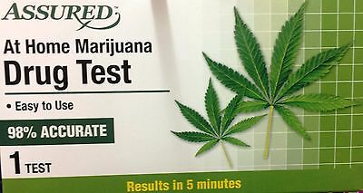 Assured At Home Marijuana  Drug Test Easy to Use Results in 5 Minutes