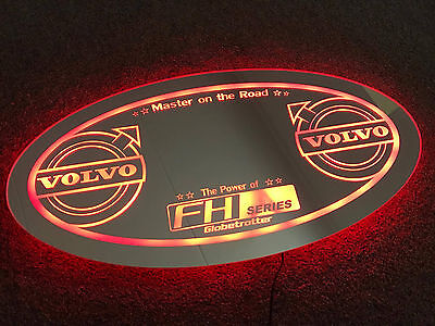 Truck Led Board Multicolor Light Mirror Board Volvo
