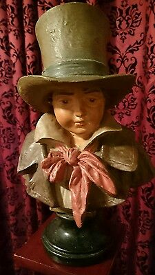 Antique girl and boy busts - Piano Ornaments?