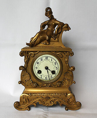 Art deco clock one of a kind rare from royal family