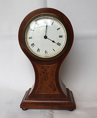 British clock vintage wind up very rare- estate, in working condition